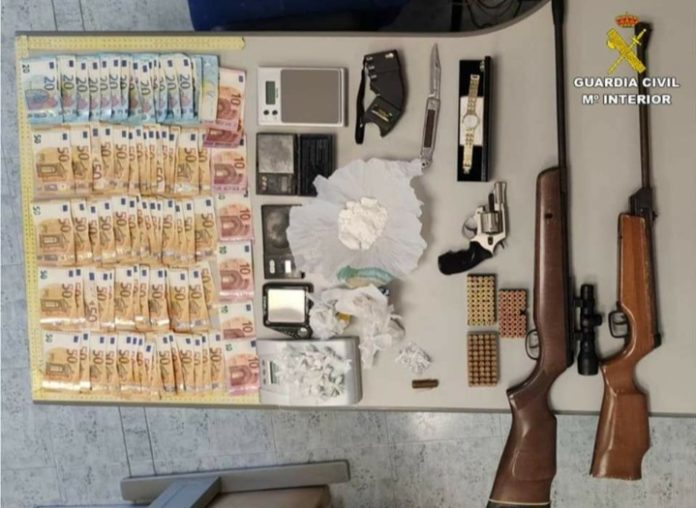 Guardia Civil 'Operation Against Drugs' swoop in Alicante