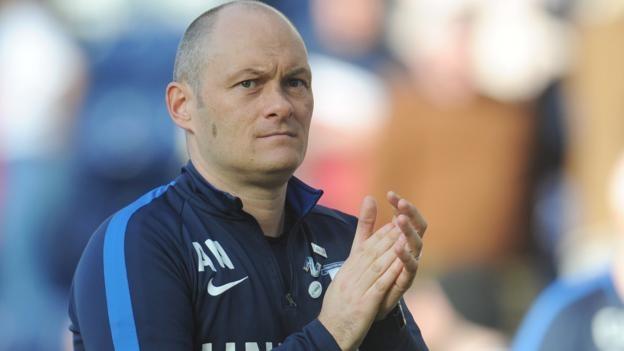 Alex Neil: no friendly games allowed by EFL.