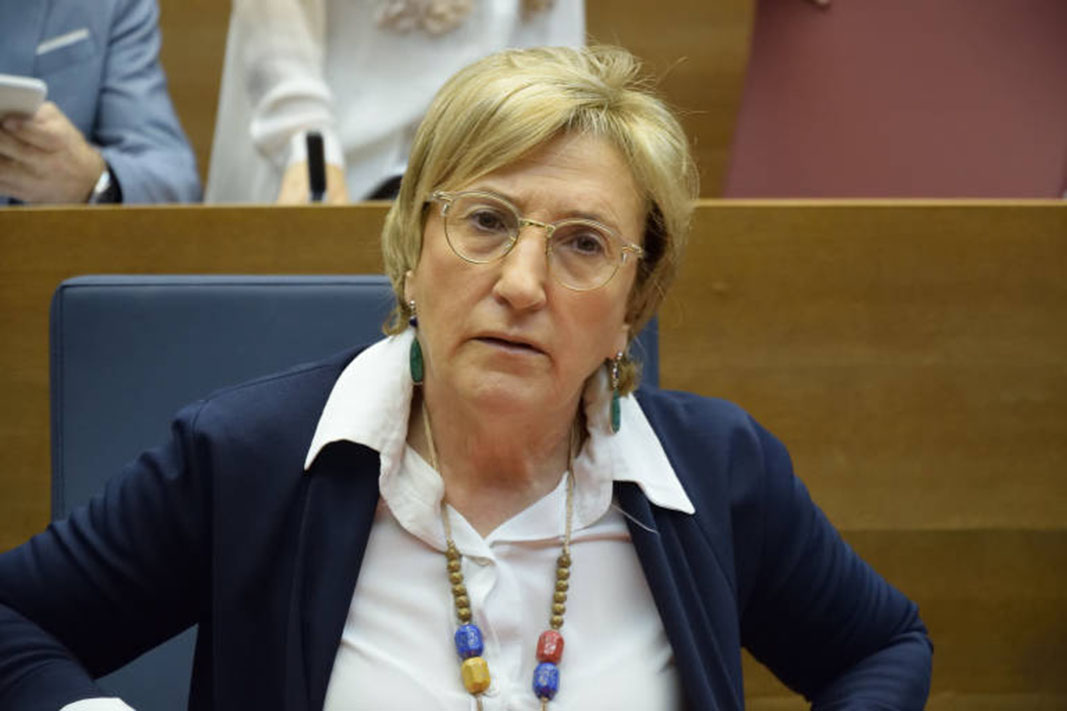 The Minister of Health, Ana Barceló,
