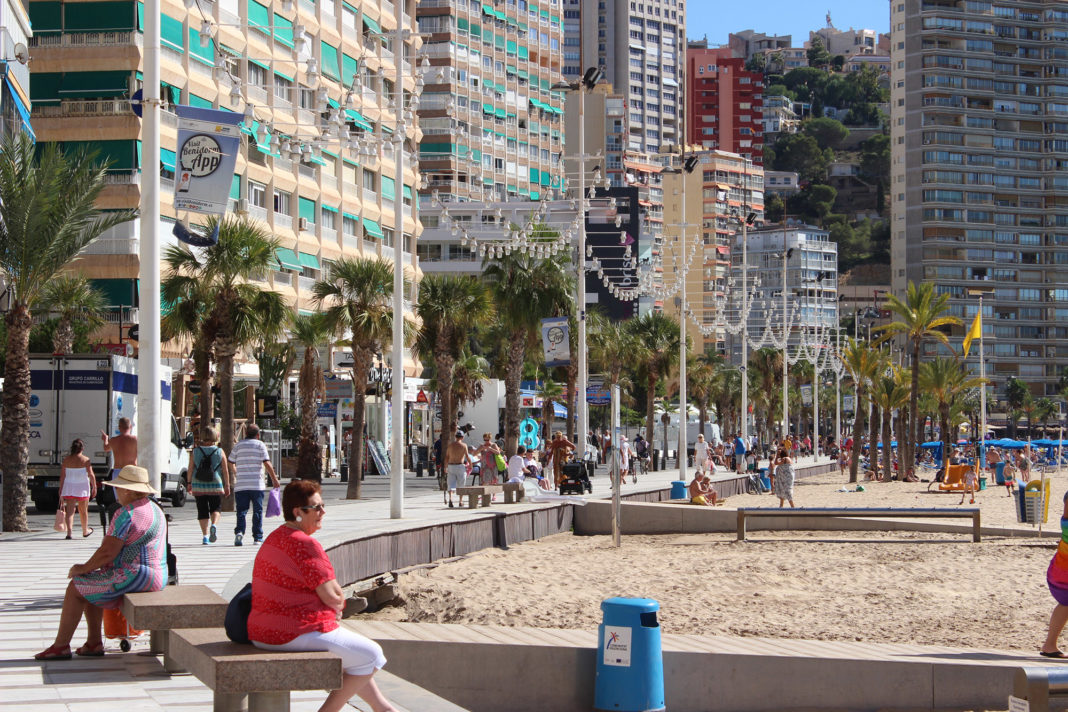 Benidorm summer will depend on arrival of the British