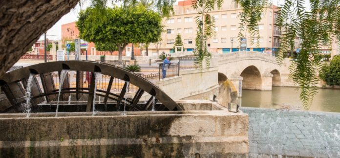 The historic Charles III Bridge