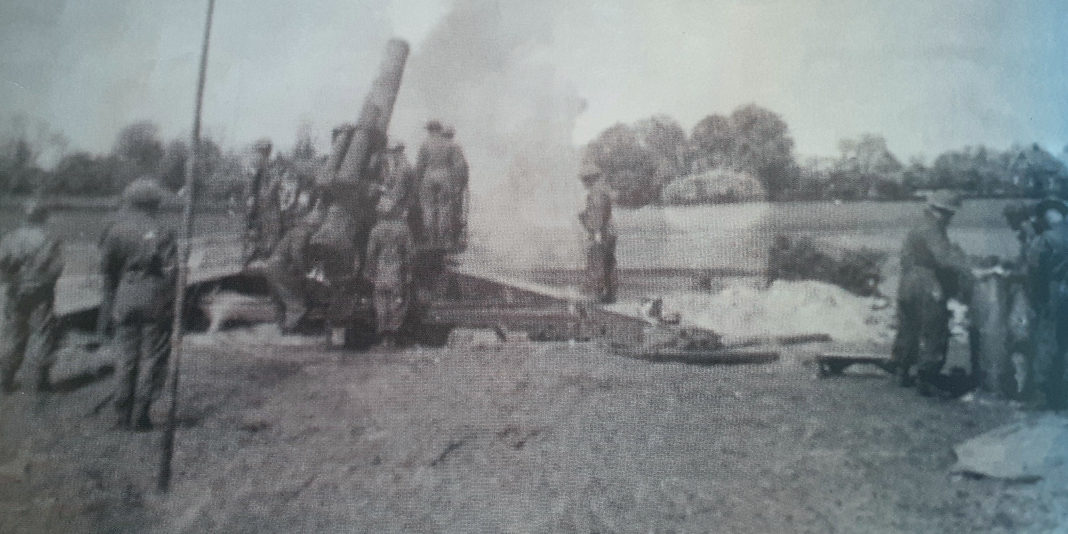 Super heavy guns used to fire from DuPanne on German resistance in Dunkirk. Shells used were 360lb, with a 14 mile range.