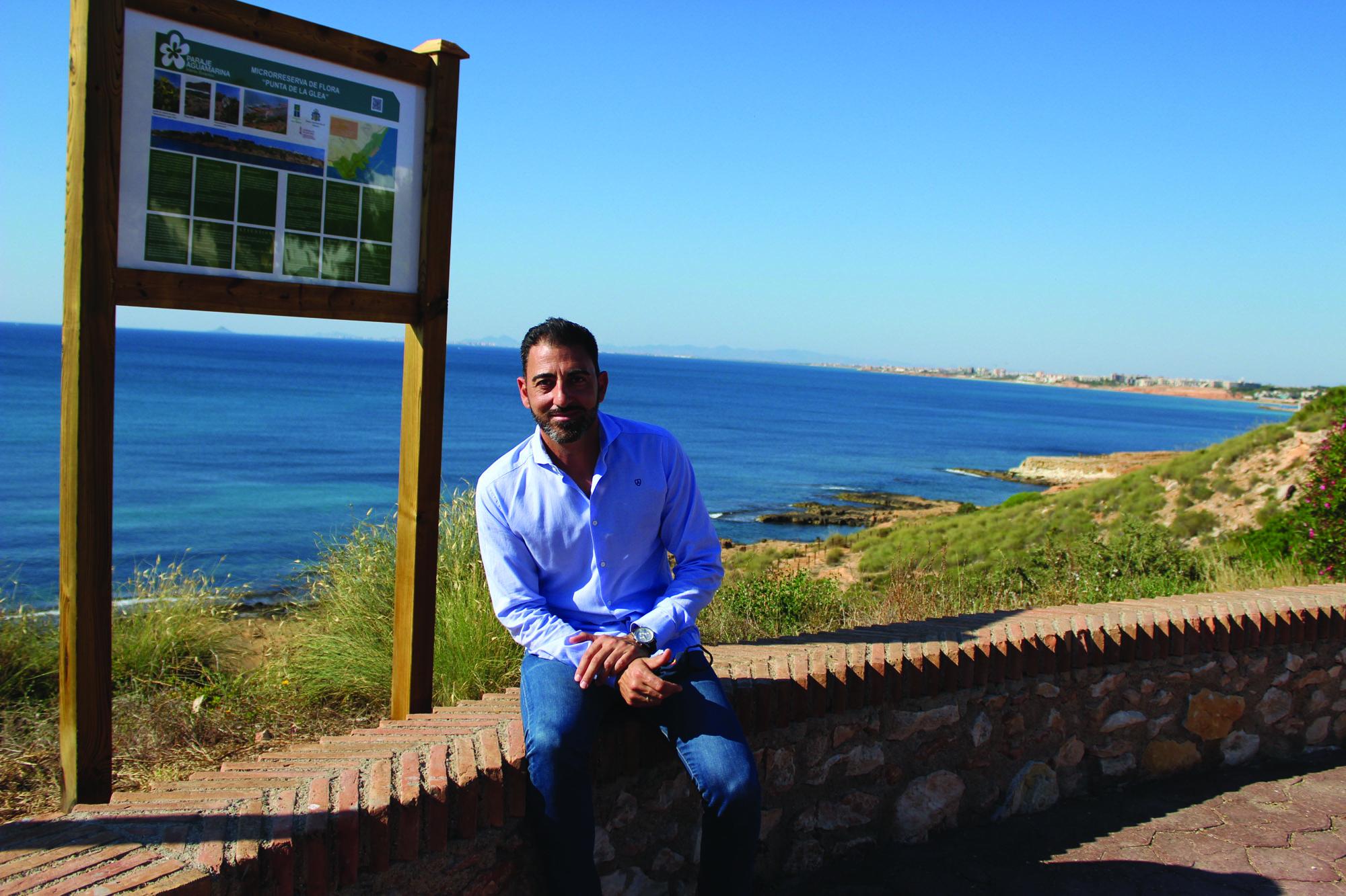Councillor for the Environment, Dámaso Aparicio