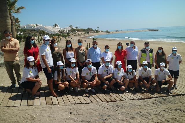 Mojácar hosts Andalusian government's 'safe beach plan' presentation