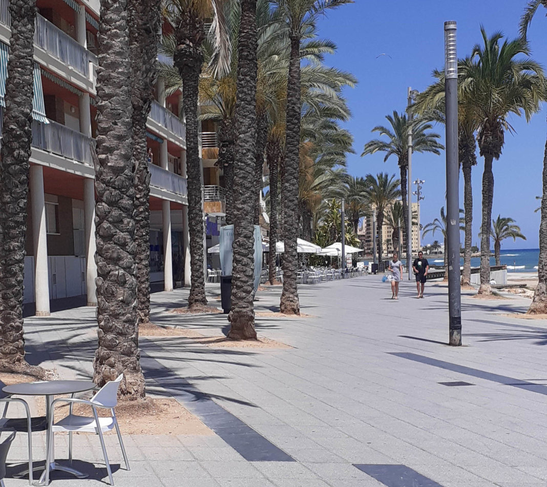 Torrevieja almost a ghost town
