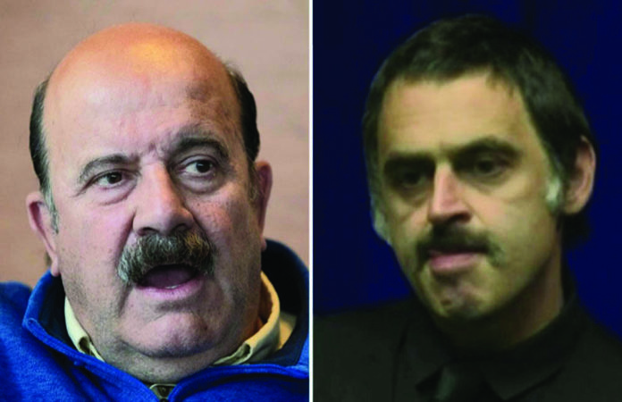 Willie Thorne sends 'I Love You' message to Ronnie O'Sullivan from ICU at Torrevieja hospital - thanks to The Leader