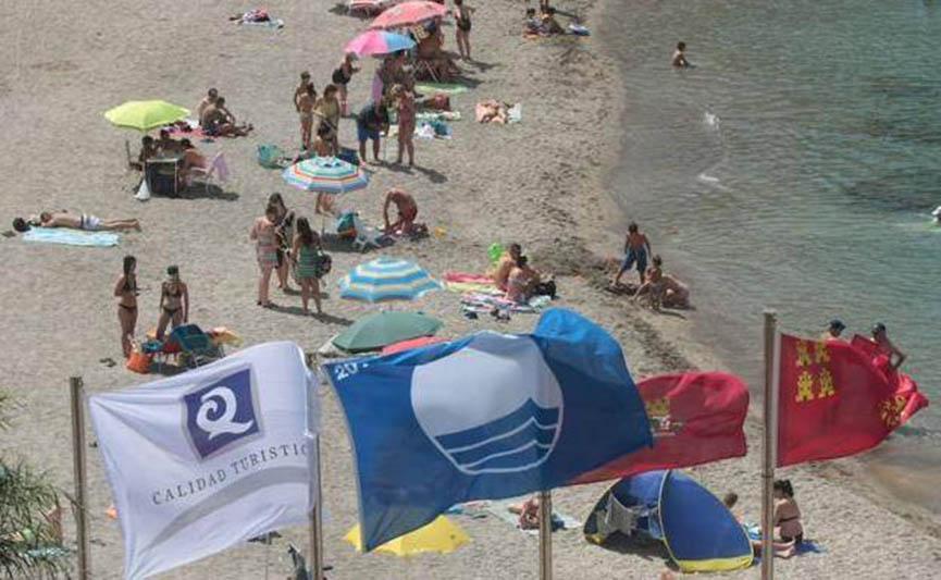 Murcia Beaches awarded 26 Blue Flags