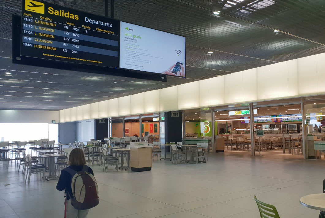 Corvera Airport will reopen on 1 July
