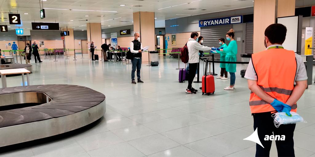 Alicante airport tests new measures against coronavirus