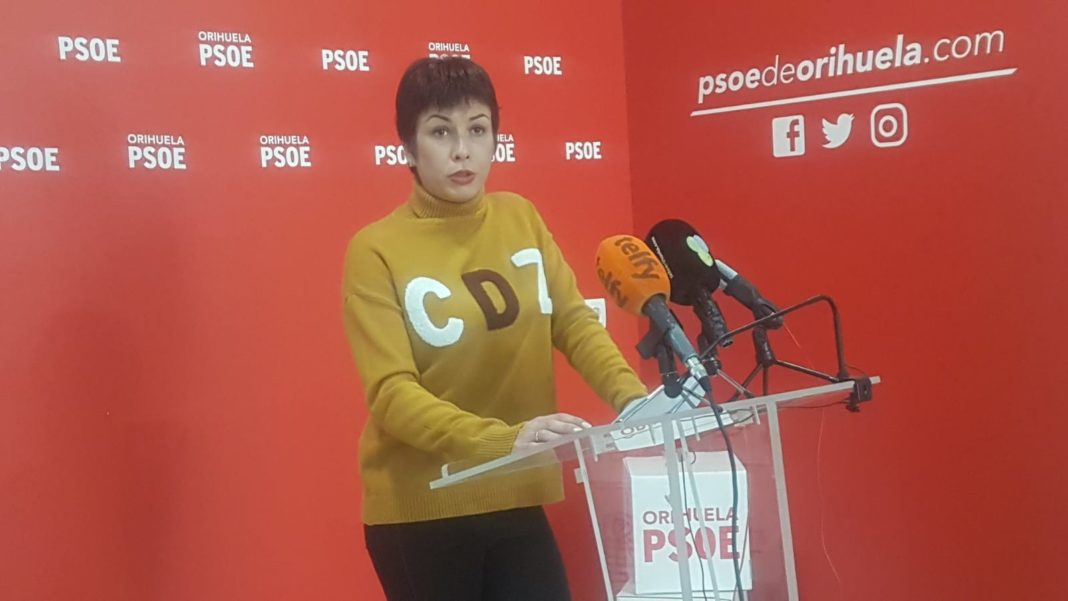 Carolina Gracia blames flooding on lack of government investment in Orihuela