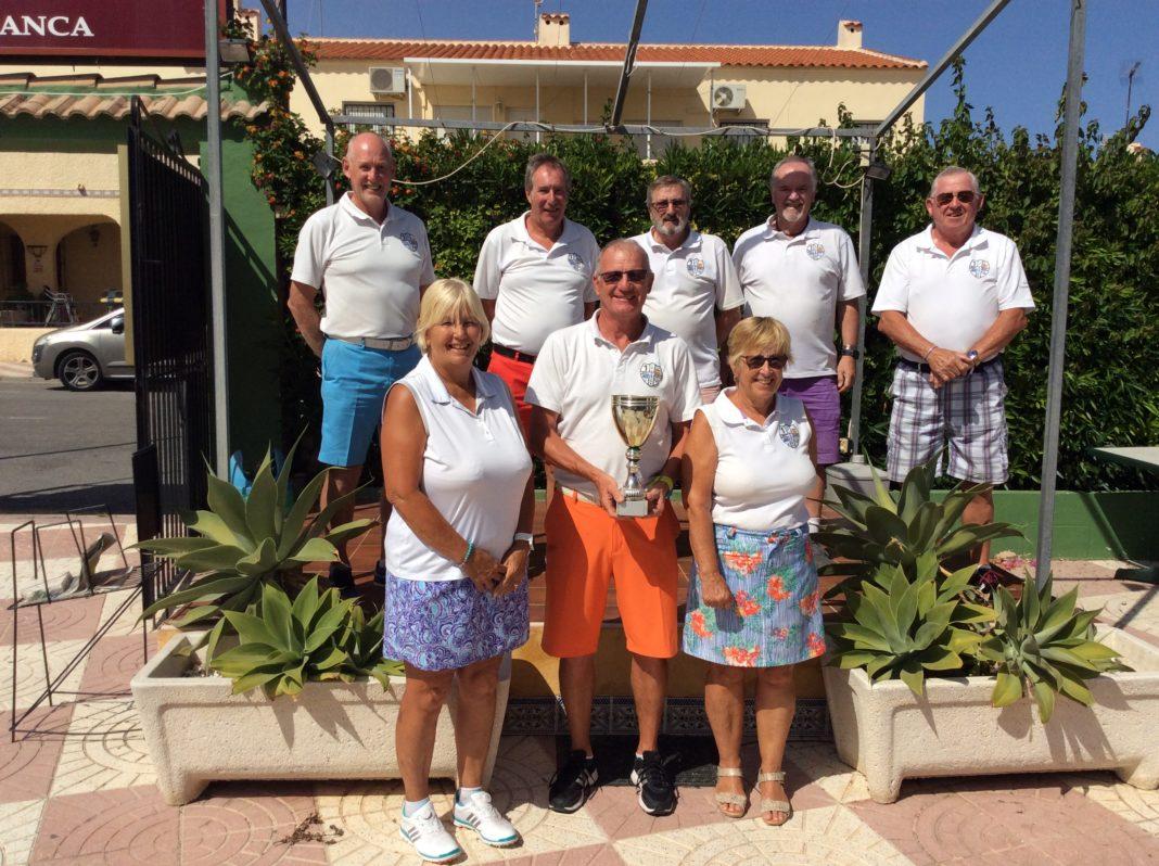 Double drop for La Marina Golf Society