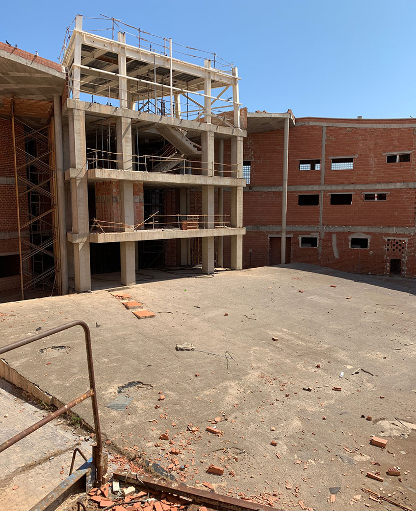 The municipality has also commissioned a report on the future of the current building,