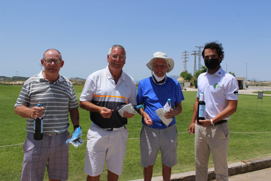 The tournament winners from Torrevieja and La Finca