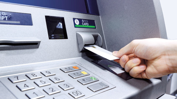 Monthly Number of ATM Transactions in the UK Plunged by 40%
