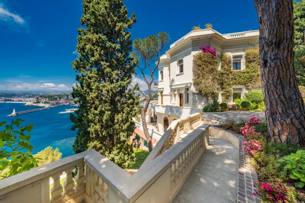 Sean Connery's South-of-France Villa for sale