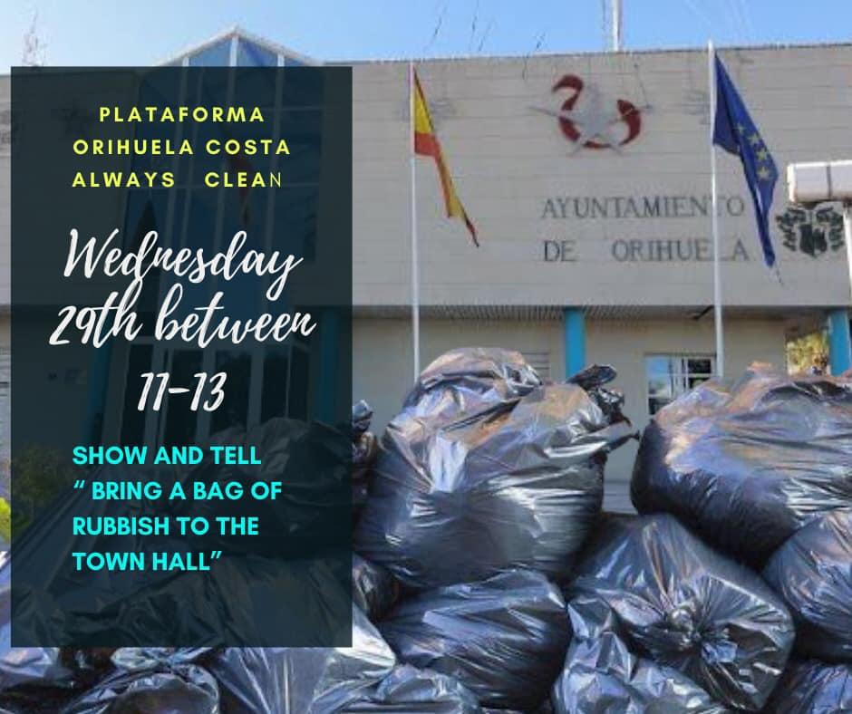 Keeping the Orihuela Costa Clean
