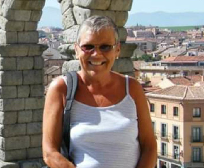 Former Rojales resident Rosemary le Messurier.