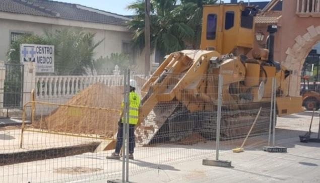 Damage caused in Cuidad Quesada amid refurb