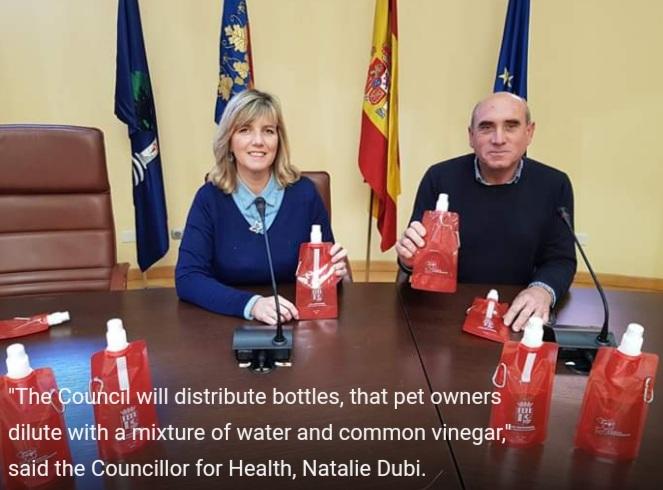 Los Montesinos: Public awareness campaign.