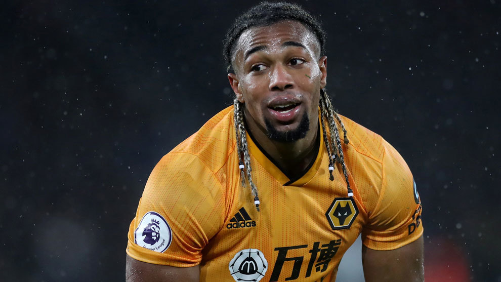 Adama Traore from Wolves is a name mentioned at Liverpool