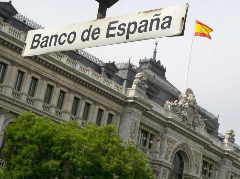 Spain central bank warn of 'sluggish' growth amid COVID-19