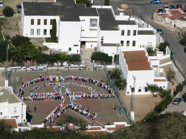 Mojácar's summer school starts upwith increased safety measures for a smaller intake of children