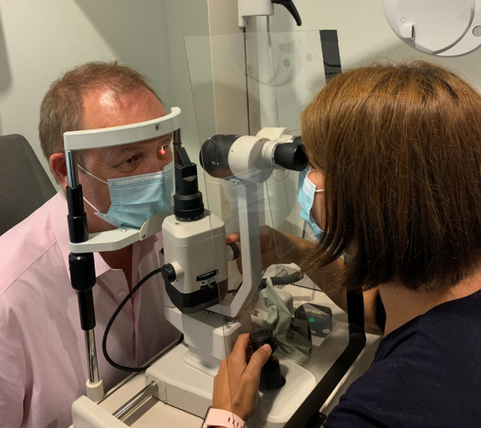 """Ask the optician – What can I expect when visiting the optician in the """"new normal""""?"""