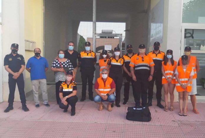 San Fulgencio Local Police and Civil Defense get 3 defibrillators