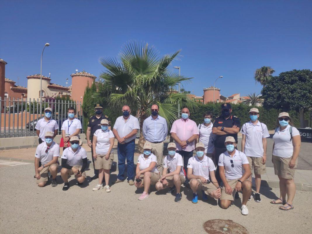 Beach assistants employed for summer season in Orihuela Costa