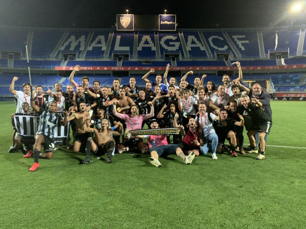 Cartagena promoted to Segunda after penalty shootout