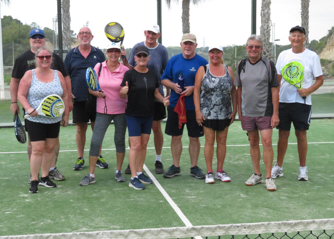 The newly formed Padel Group