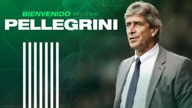 Manuel Pellegrini, new Betis coach. (Photo Real Betis)