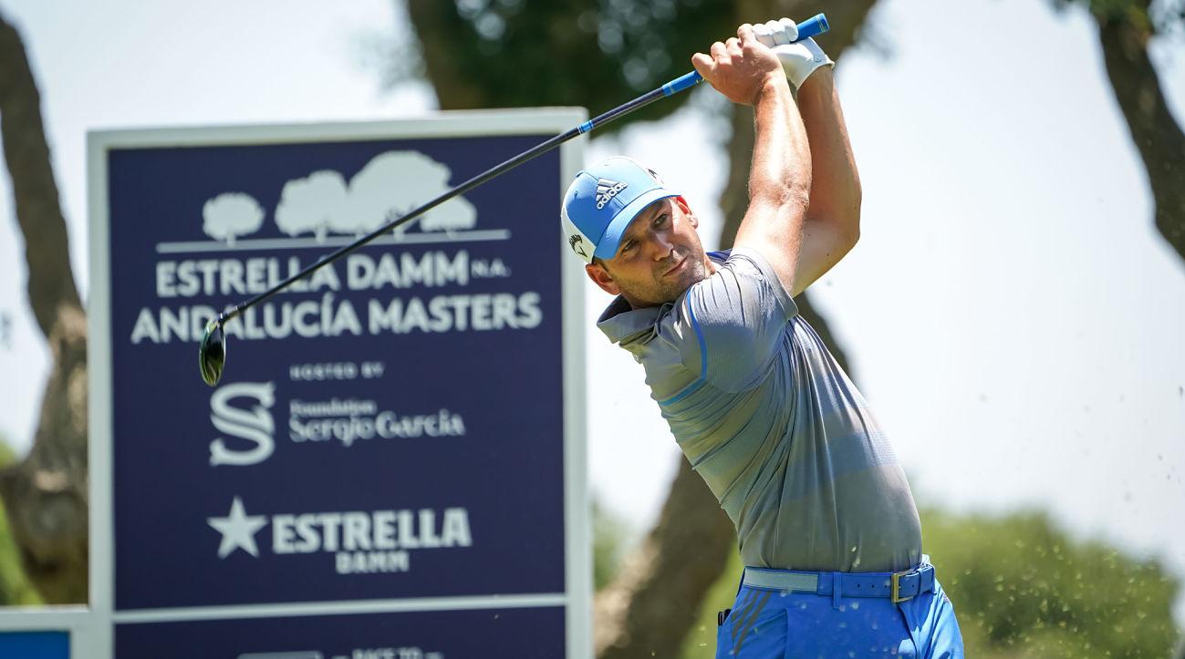 Sergio García, triple champion and host of the Estrella Damm NA Andalucía Masters