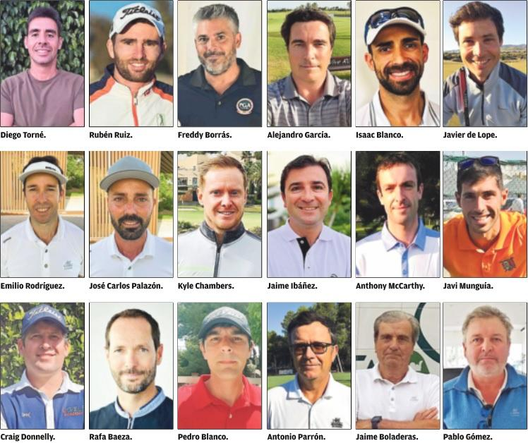 Murcia's professionals, the keepers of golf