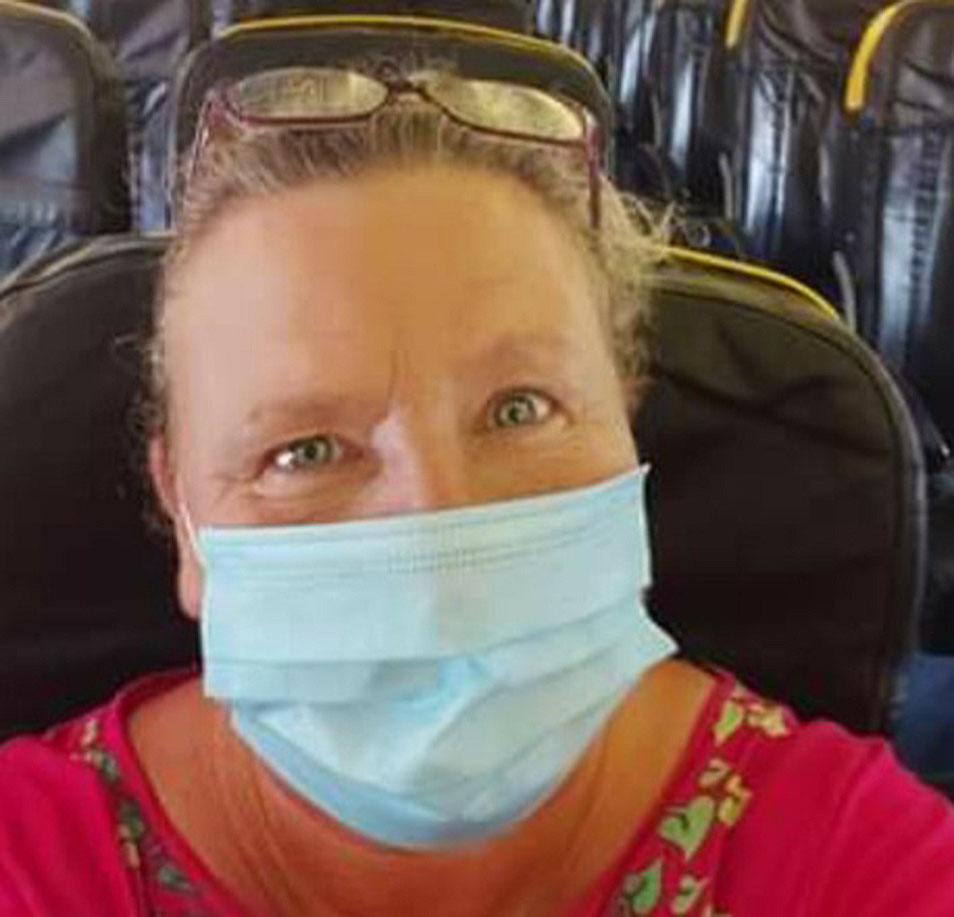Lisa Derry: Ashamed to be British after disgusting behaviour of passengers on flight to Spain.