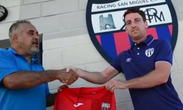 Racing San Miguel renewal of contract for Daniel Quesada Wilson.
