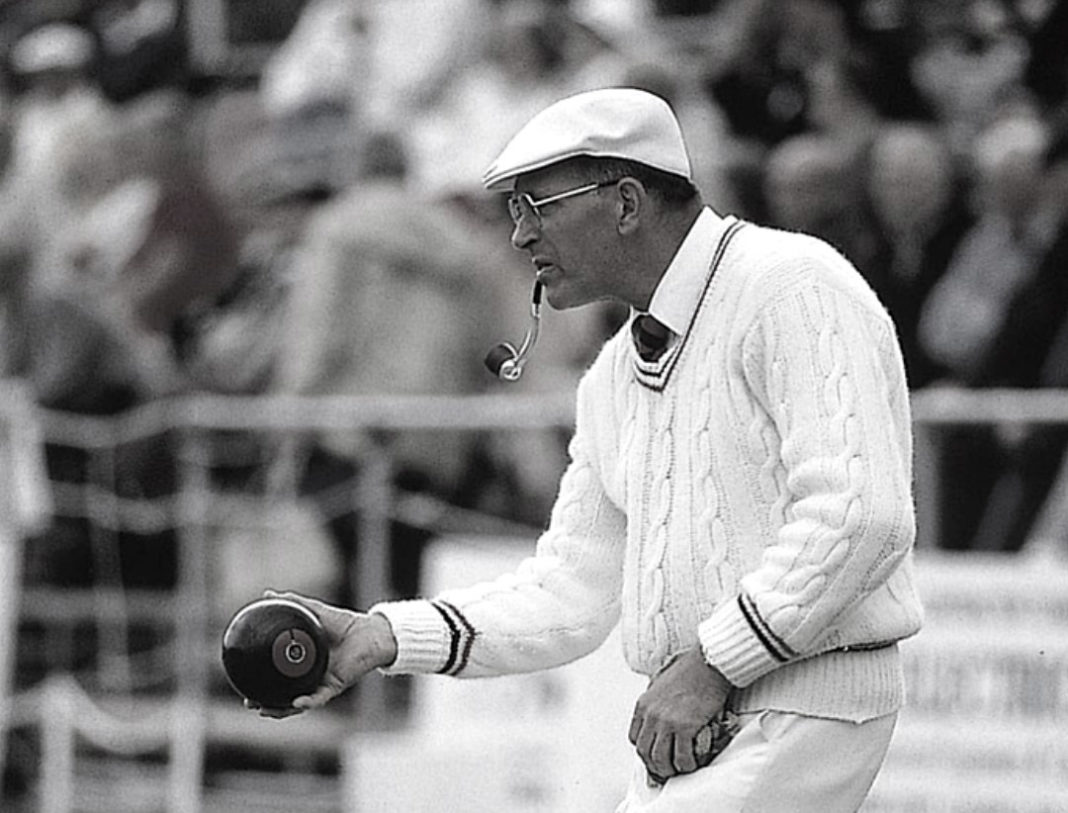 David Bryant CBE one of bowls leading stars and ambassadors has sadly died, aged 88
