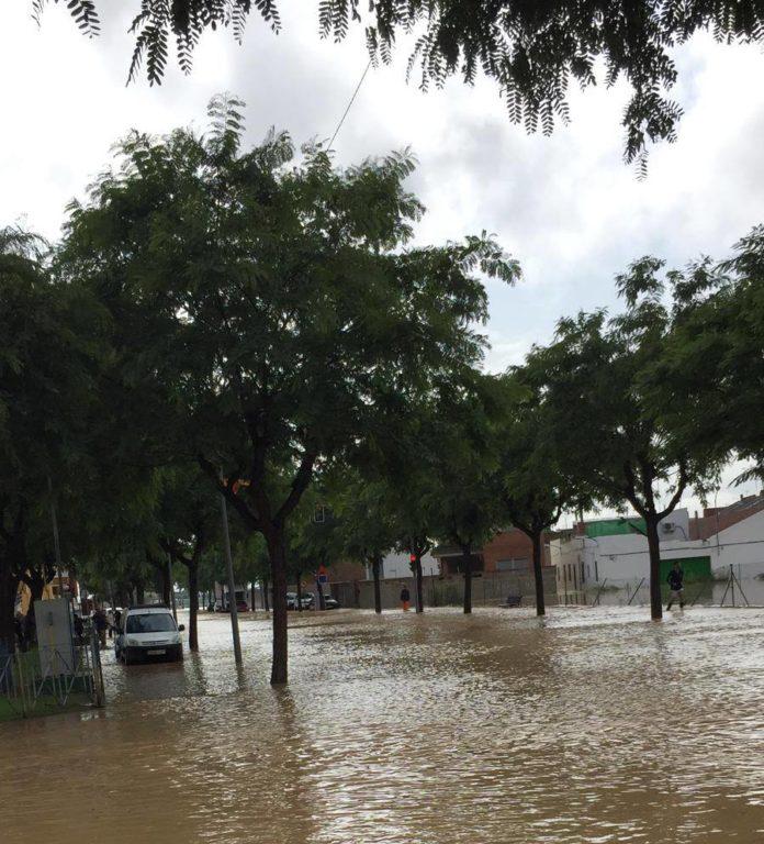 Redovan during the DANA floods