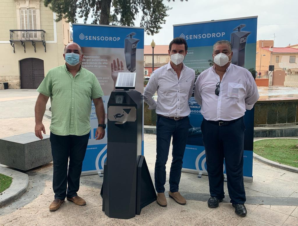 Automatic gel dispensers purchased by Orihuela Council