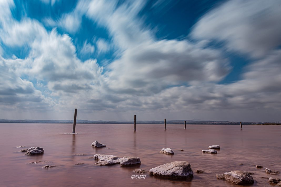 Getting the pink back at Torrevieja Salinas