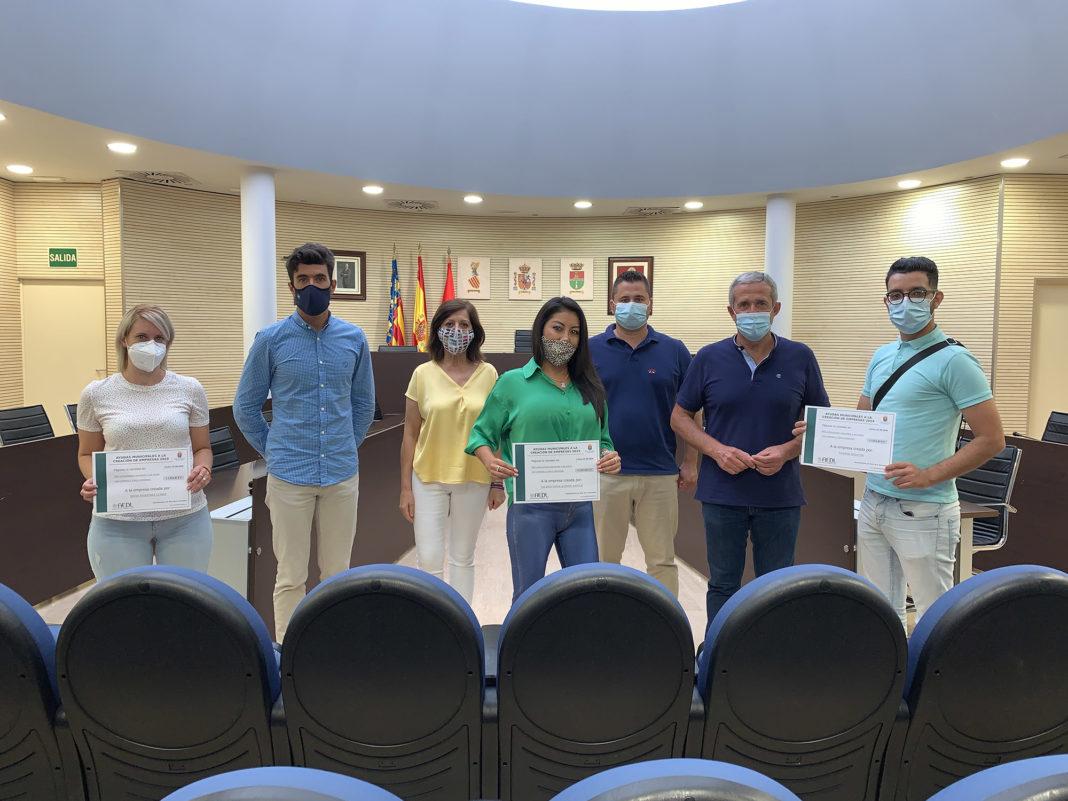 50,000 euros given to 33 entrepreneurs in Horadada