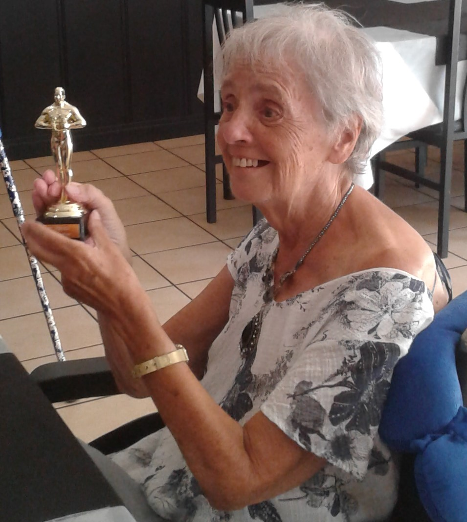We decided it only fitting to award Joan her very own Oscar