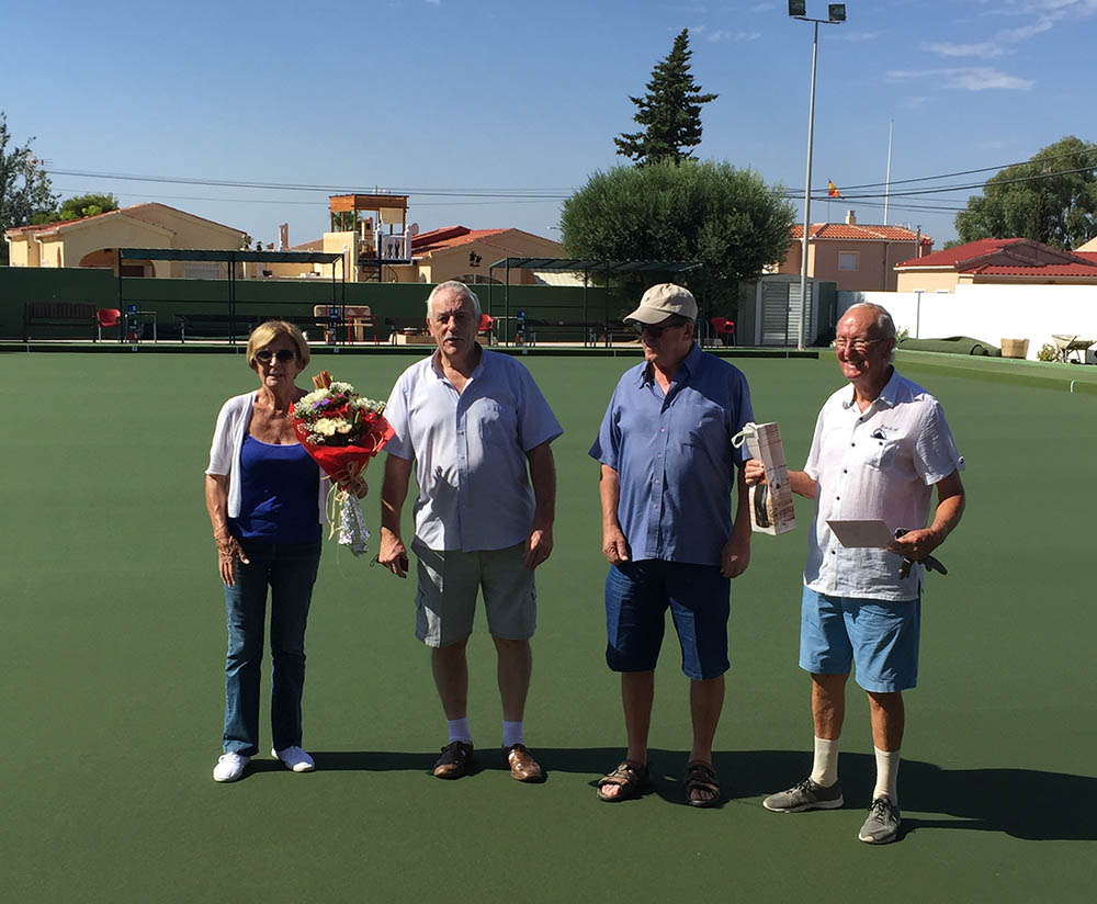 La Marina Bowls Club 22 August 2020