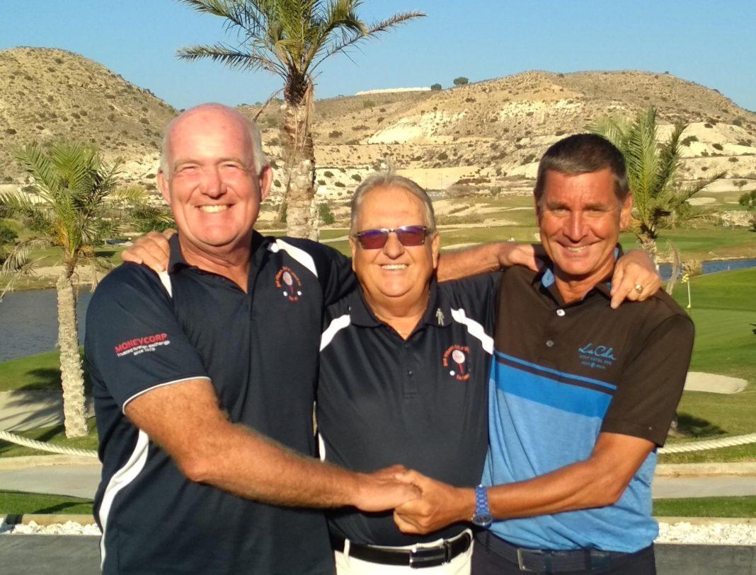 Last years Silver winners Phil, Ken and Andie
