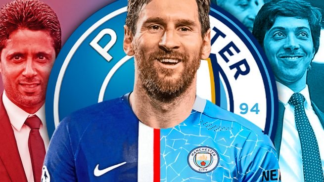 PSG and Man City locked in battle for Messi signature