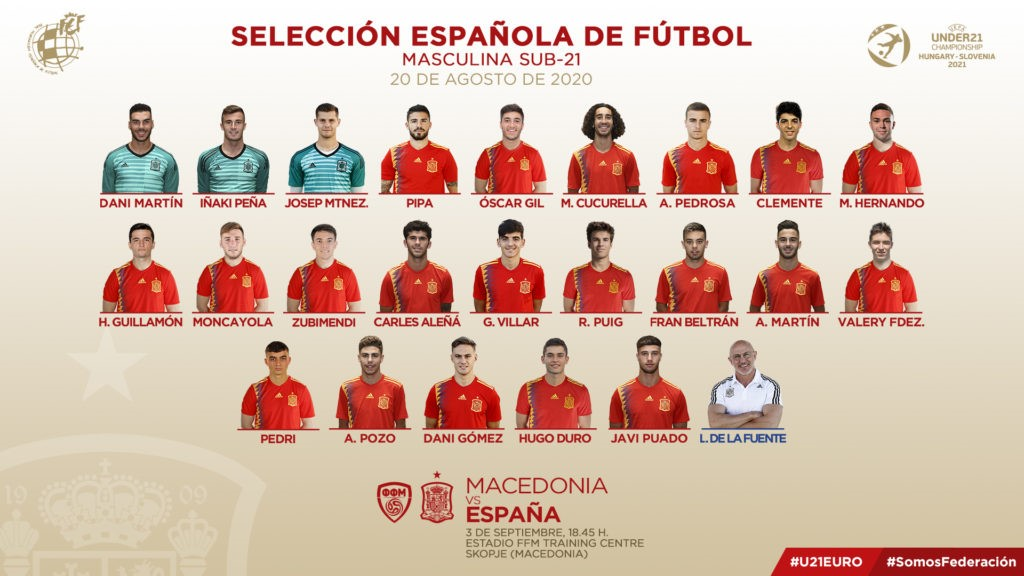 Valencian Players prominent in National squads