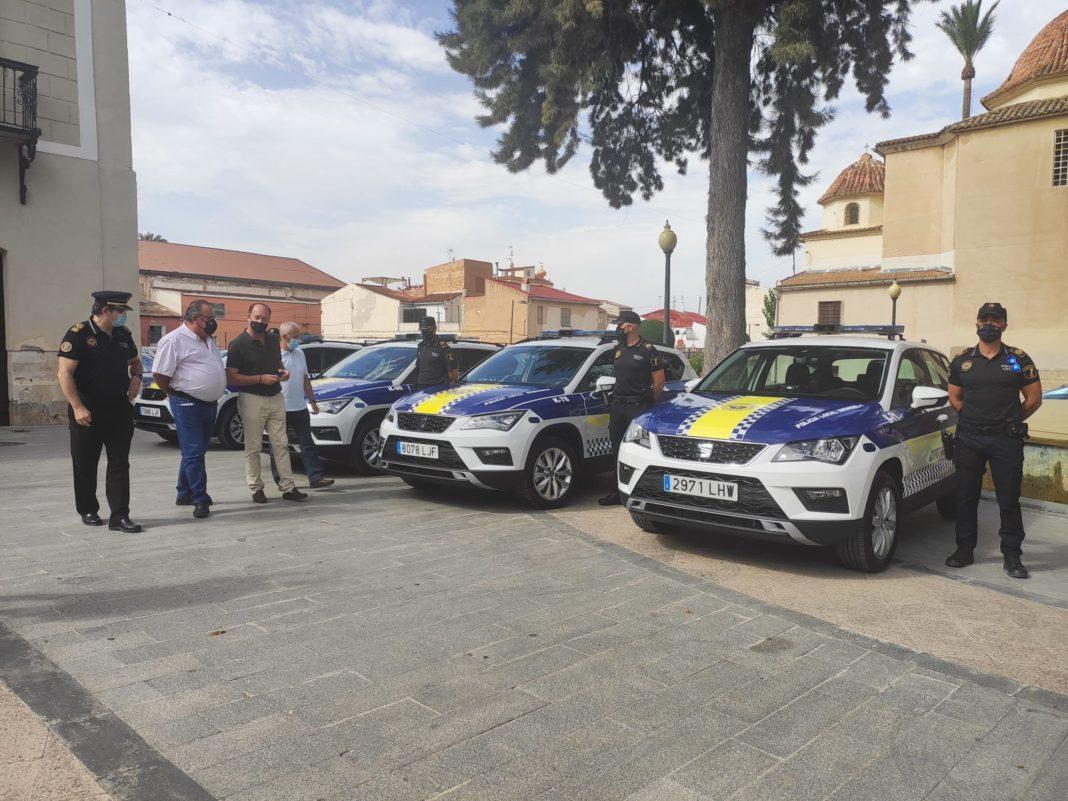Twelve new vehicles for Orihuela Local Police