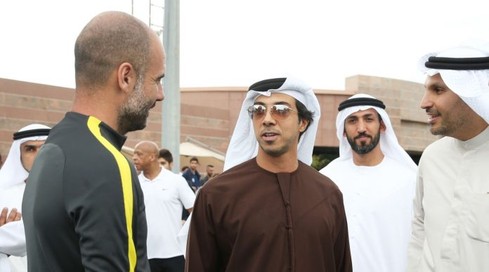 From Guardiola to King Juan Carlos, connections of the UAE's Sheikh Mansur