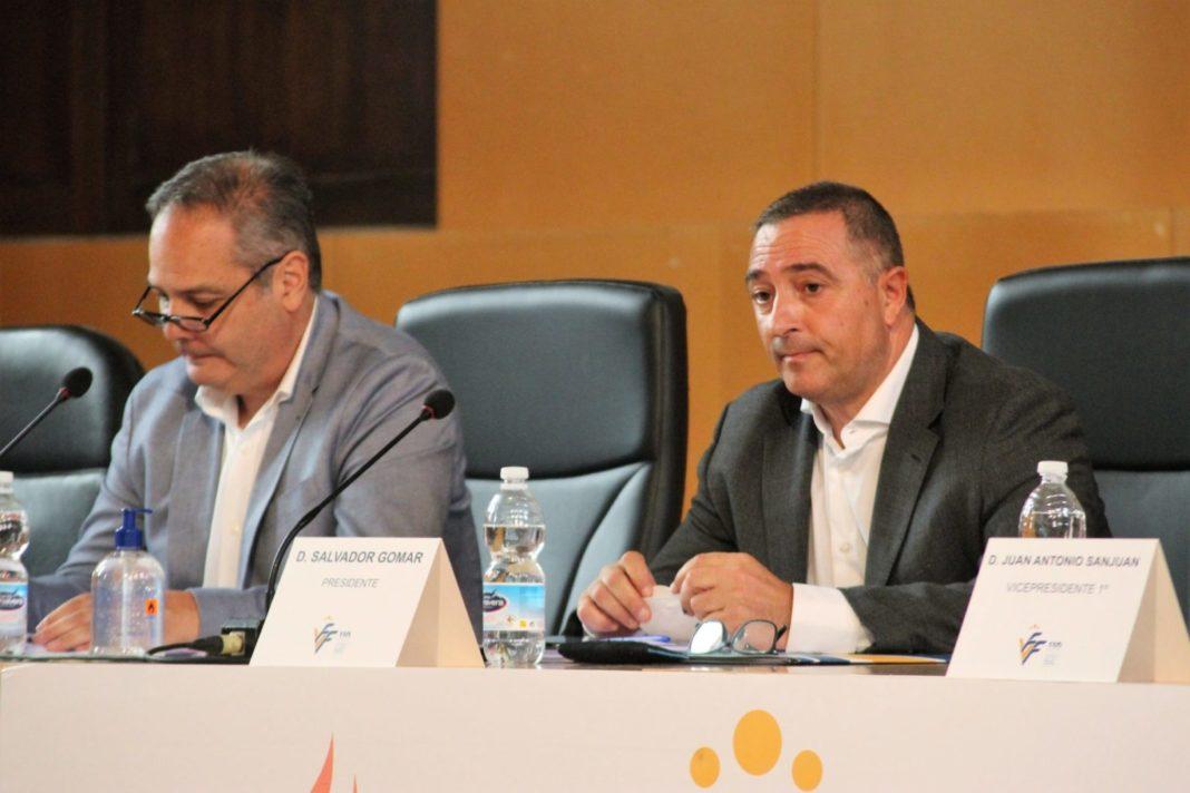 The president of the Valencian Community Soccer Federation , Salvador Gomar
