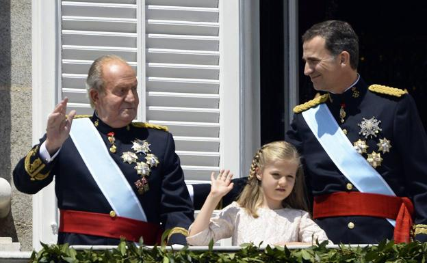Former King forced out of Spain by financial scandal